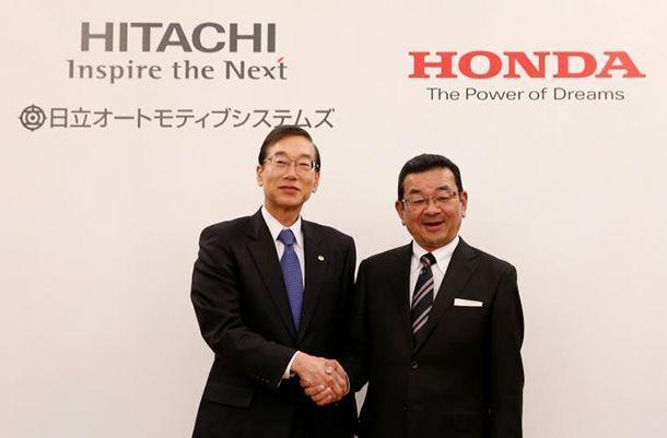 Honda และ Hitachi บรรลุข้อตกลงพัฒนารถพลังงานไฟฟ้าร่วมกัน