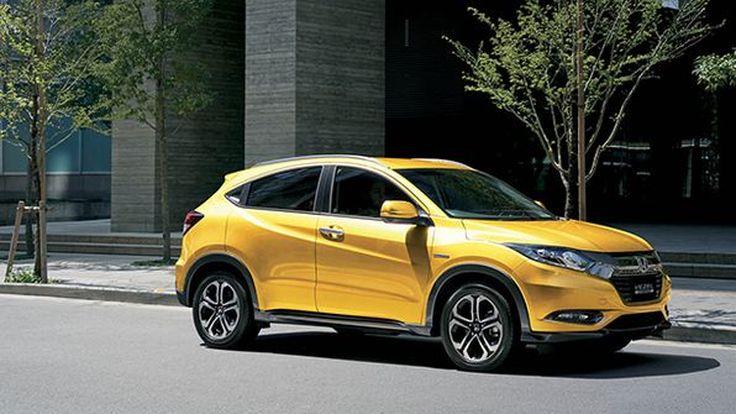 Honda HR-V Brilliant Style เวอร์ชั่นพิเศษ เหลืองอร่ามดึงดูดทุกสายตา