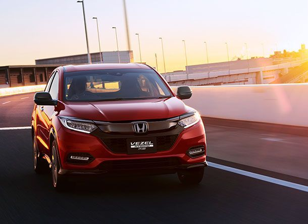 Honda แย้มภาพ HR-V รุ่นปรับโฉมใหม่ ก่อนเปิดตัวในญี่ปุ่นเดือนหน้า