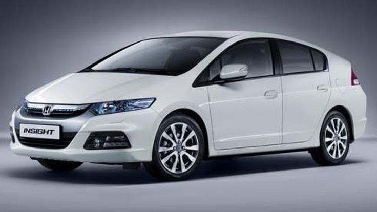 เผยภาพ Honda Insight ไมเนอร์เชนจ์ปี 2012 ก่อนเปิดตัวที่ Frankfurt Motor Show