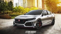 งานไว !! X-Tomi Design โชว์งานด่วน ออกแบบ Honda Insight Type R สุดดุดัน