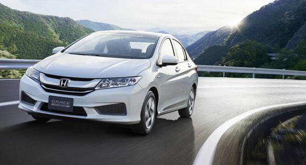 "Honda เผยโฉม ""Grace"" ซับคอมแพกต์ซีดานไฮบริดในร่าง City ออกทำตลาดญี่ปุ่น"