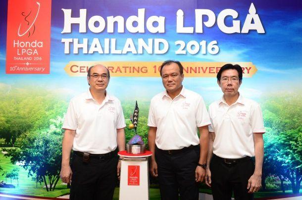 """""""ฮอนด้า"""" จับมือ """"ช่อง 7 สี"""" สู้ศึกฉลองครบ 10 ปี """"Honda LPGA THAILAND 2016"""""""