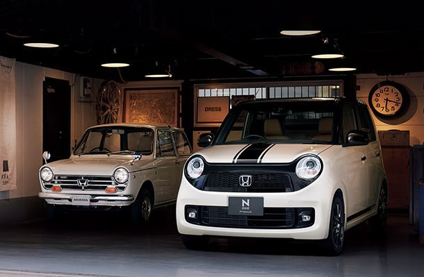 น่ารักแบบย้อนยุค Honda N-One เวอร์ชั่น Suzuka Special