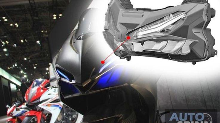 เผยภาพสิทธิบัตรไฟหน้า Honda CBR250RR หรืออาจเป็นของรถสปอร์ตรุ่นใหม่