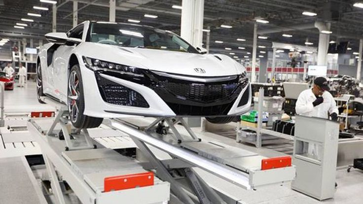 Honda เดินสายการผลิต NSX พวงมาลัยขวาแล้ว ก่อนส่งมอบต้นปีหน้า