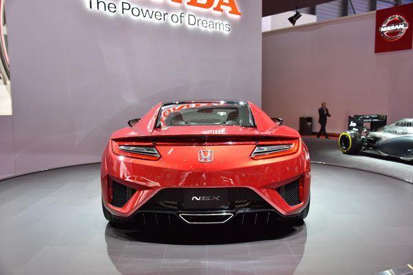 Honda NSX Type R จ่อเปิดตัวในปี 2018 รีดพลัง 608 แรงม้า