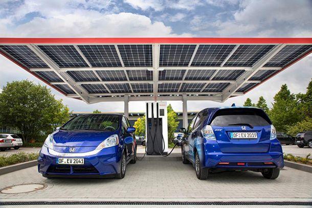 Honda เปิดสถานีชาร์จไฟที่ล้ำสมัยที่สุดในเยอรมนี