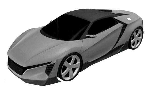 เปิดภาพรถสปอร์ต Honda รุ่นปริศนา ลือหึ่งเป็น NSX รุ่นเล็ก?