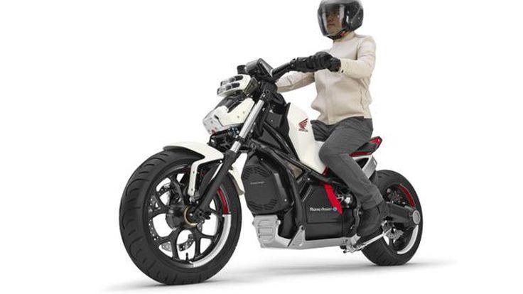 Honda Riding Assist-e Concept สองล้อไม่มีวันล้มพลังงานไฟฟ้าเตรียมเผยโฉมปลายเดือนนี้