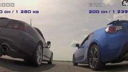 ศึกแดรกข้ามรุ่น Honda S2000 เก่าแต่เก๋า ปะทะ Subaru BRZ ระยะควอเตอร์ไมล์