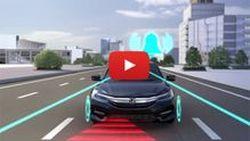 ชมนวัตกรรมความปลอดภัย Honda SENSING ก่อนเปิดตัว Accord Hybrid