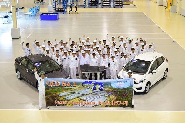 ฮอนด้าเดินเครื่องจักรผลิตชิ้นส่วนในโรงงานแห่งใหม่อย่างเป็นทางการ