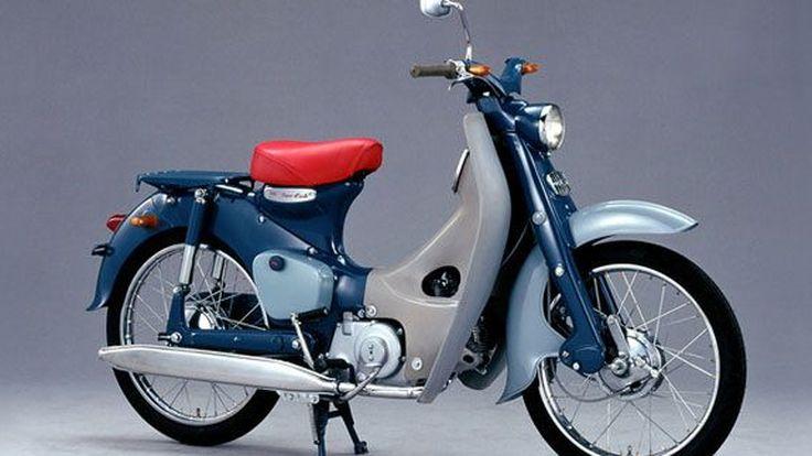 """Honda Super Cub ได้รับเครื่องหมายการค้าแบบ """"สามมิติ"""" ครั้งแรกในญี่ปุ่น"""
