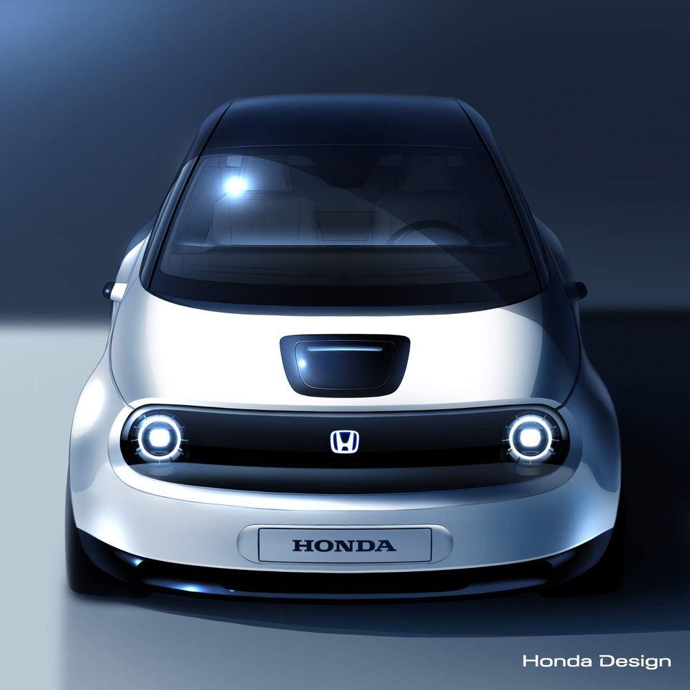 Honda เปิดภาพต้นแบบ EV พลังไฟฟ้าก่อนเตรียมอวดที่งาน Geneva Motor Show