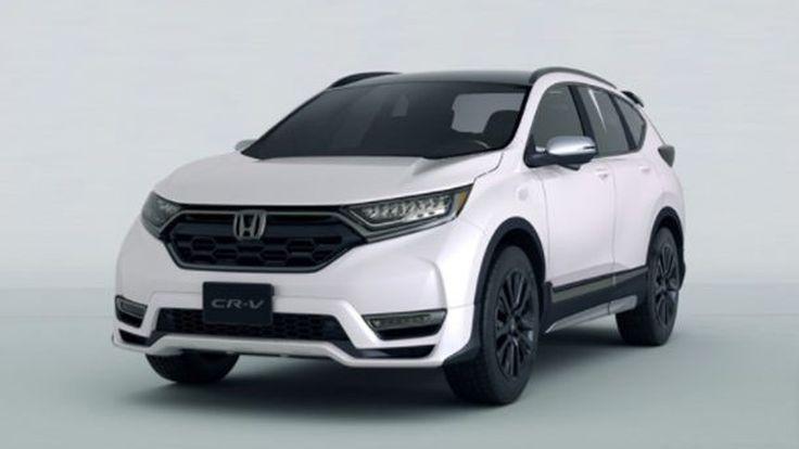 Honda เผยโฉม CR-V Custom Concept เวอร์ชั่นต้นแบบ สปอร์ตมากขึ้น