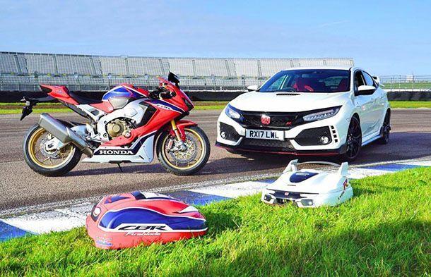 "Honda ฉลอง 25 ปี Type R เปิดตัว ""เครื่องตัดหญ้า"""