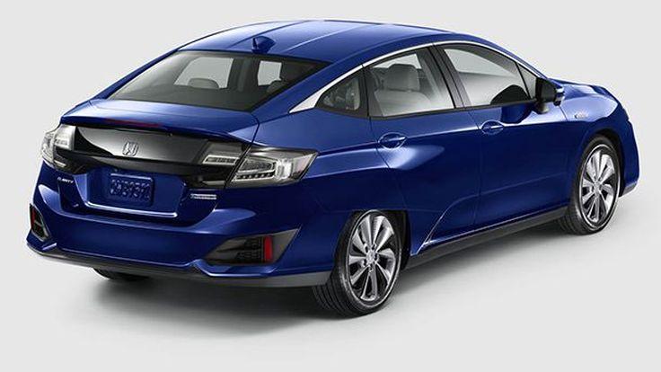 Honda เผยโฉม Clarity ระบบขับเคลื่อนไฟฟ้าและปลั๊กอินไฮบริด