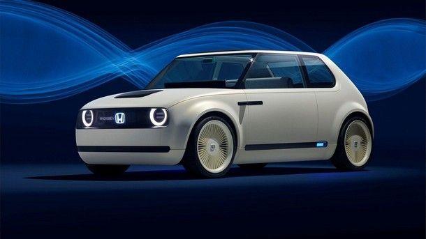 Honda Urban EV Concept คอนเซปต์คาร์สุดแนวพลังไฟฟ้า รุ่นใหม่ของค่าย