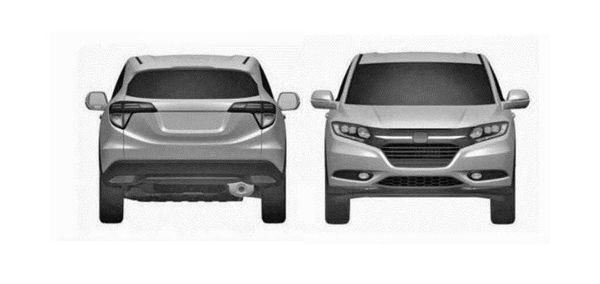 """หลุดภาพ Honda Urban SUV รถอเนกประสงค์รุ่นเล็ก บนพื้นฐานเดียวกับ """"Jazz"""""""