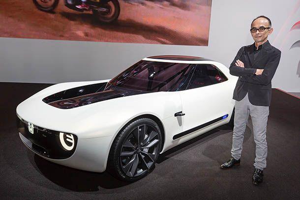 """ผู้บริหาร Honda ชี้พลังงานไฟฟ้าจะ """"ปฏิวัติ"""" การออกแบบรถยนต์"""