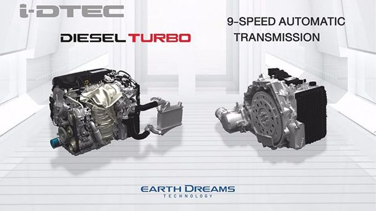 Honda จ่อวางขุมพลัง i-DTEC ดีเซลเทอร์โบ  1.6 ลิตรใน CR-V ขายในไทย