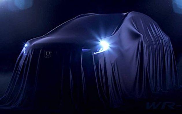 ทีเซอร์อีกแล้ว Honda WR-V ครอสโอเวอร์บนพื้นฐาน Jazz