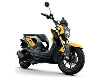 ใหม่ Honda Zoomer X ฮอนด้าซูมเมอร์เอ็กซ์ มอเตอร์ไซค์สไตล์ Naked A.T.