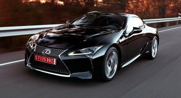 Lexus LC F สปอร์ตตัวแรงรุ่นใหม่ อาจมาพร้อมขุมพลังไฮบริดเต็มระบบ