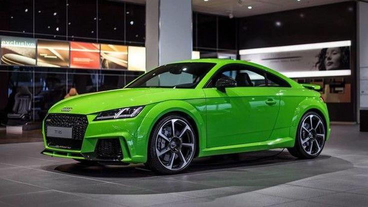 จี๊ดจ๊าด !! Audi เปิดตัวสปอร์ตรุ่นใหม่สีสันสดใสโดนใจกับ TT RS Coupe The Hulk Edition