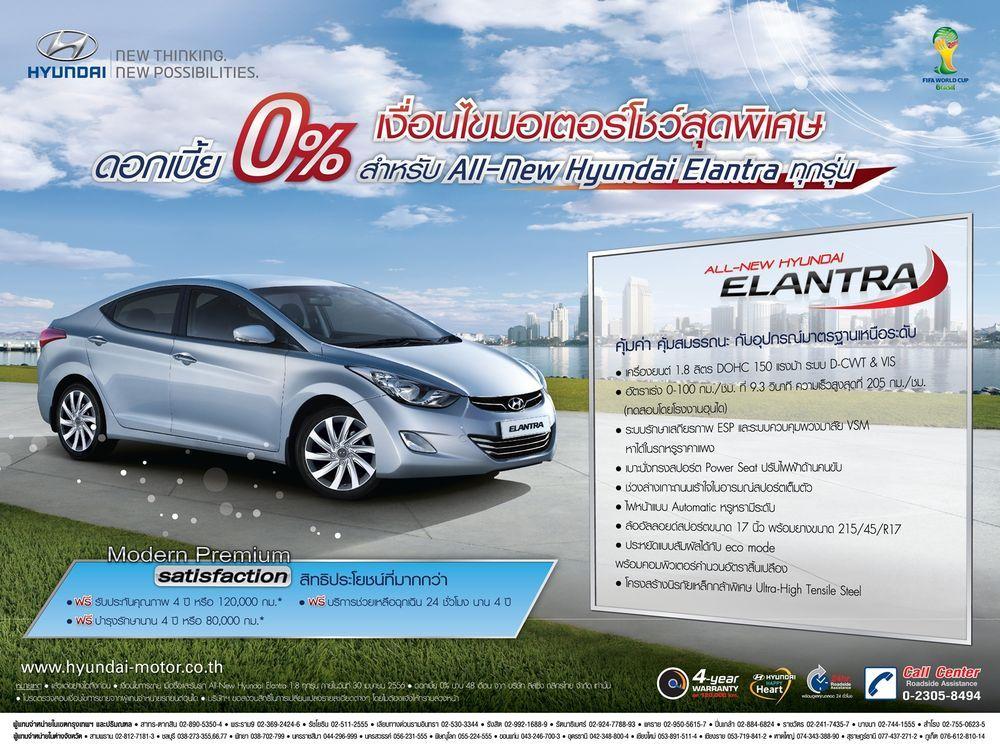 Hyundai มอบข้อเสนอพิเศษสำหรับงานมอเตอร์โชว์ ครั้งที่ 34