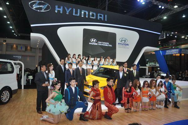 Hyundai ส่งสปอร์ต 2+1 ประตู Veloster เป็นแม่ทัพเข้าร่วม Motor Show ครั้งที่ 34