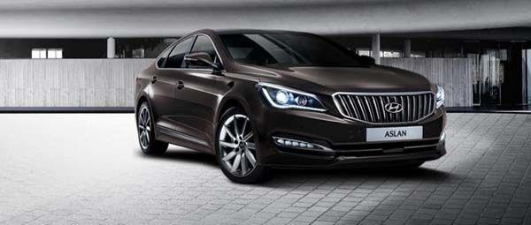 Hyundai Aslan ซีดานแนวหรูหราโมเดลล่าสุดสำหรับตลาดกิมจิ