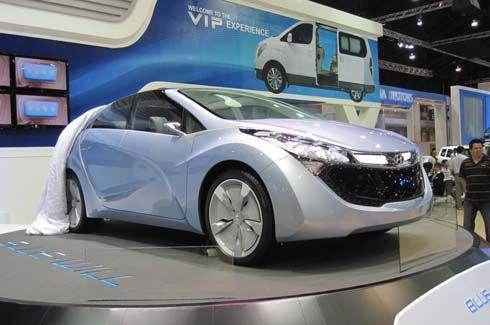 Hyundai Blue Will Concept รถไฮบริดทรงล้ำเตรียมแจ้งเกิด หลังบริษัทแม่ให้ไฟเขียว