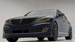Hyundai Equus RMR Signature Edition ซีดานหรูแต่งเข้มแบบทูโทนเพื่องาน SEMA Show