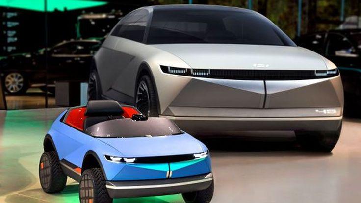Hyundai เผยโฉมรถยนต์ไฟฟ้าขนาดเล็ก เอาใจเด็ก