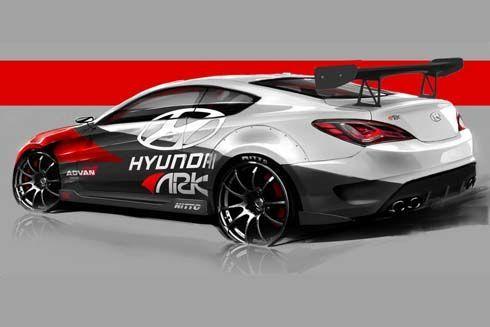 Hyundai Genesis Coupe R-Spec Track Edition พัฒนาร่วมกับ ARK Performance