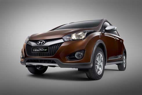 เผยโฉม Hyundai HB20X อีกหนึ่งเวอร์ชั่นของรถครอสโอเวอร์ที่เซาเปาโล มอเตอร์โชว์