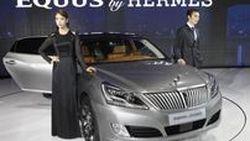 Hyundai จับมือ Hermes เติมความหรูหรารถบิ๊กซีดาน 2012 Equus