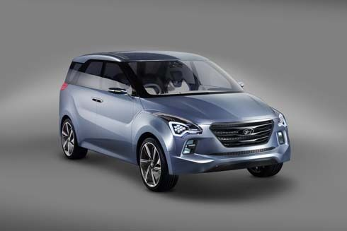 Hyundai เปิดตัว Hexa Space Concept มินิแวนสำหรับคนเมือง ในงาน Auto Expo 2012