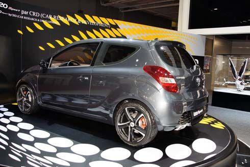 Hyundai i20 Sport Edition รถเล็กหล่อเป็นพิเศษ ด้วยของแต่งแบรนด์เนมทั้งคันโดย CRD