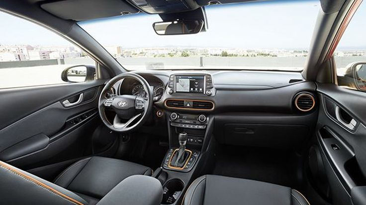 ชมภาพภายใน Hyundai Kona ครบครันความสะดวกเอาใจคนรุ่นใหม่