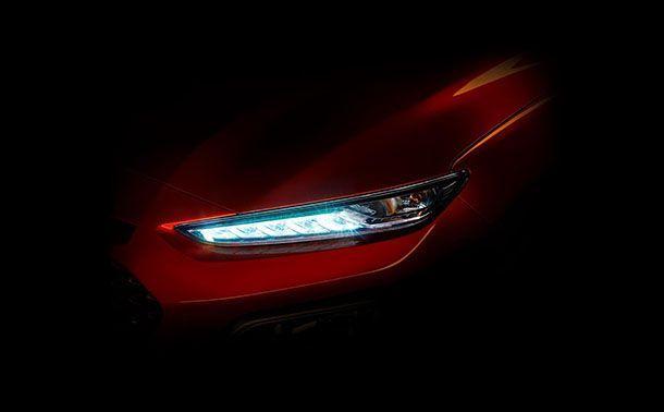 """Hyundai เผยภาพทีเซอร์ """"Kona"""" รถซับคอมแพกต์เอสยูวีรุ่นใหม่"""