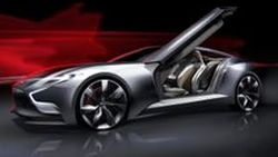 Hyundai HND-9 Concept สปอร์ตคูเป้ต้นแบบ เน้นความล้ำสมัยบนสไตล์แบบคลาสสิก