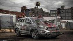 เปิดตัวจริง Hyundai Santa Fe Sport Zombie Survival Machine ไม่หวั่นซอมบี้