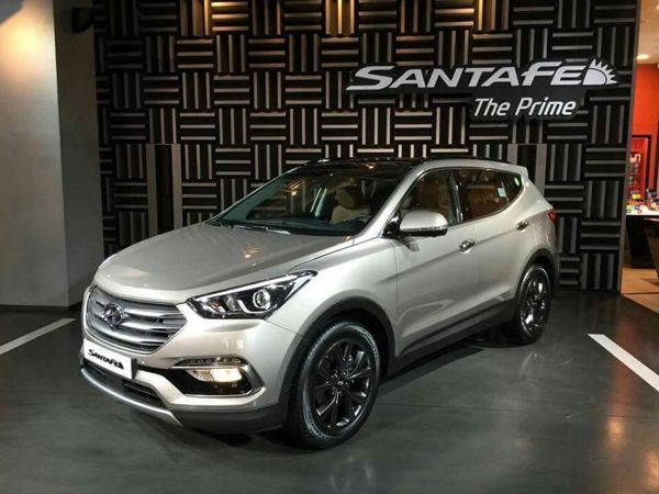 Hyundai Santa Fe รุ่นไมเนอร์เชนจ์ลุยแดนโสมเป็นแห่งแรก