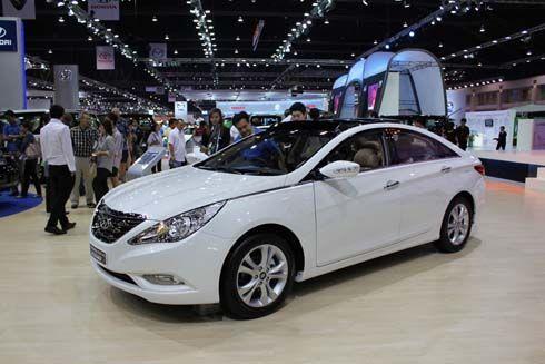 หรูแบบสปอร์ตคูเป้ Hyundai Sonata Sport เปล่งประกายที่งาน Bangkok Motor Show