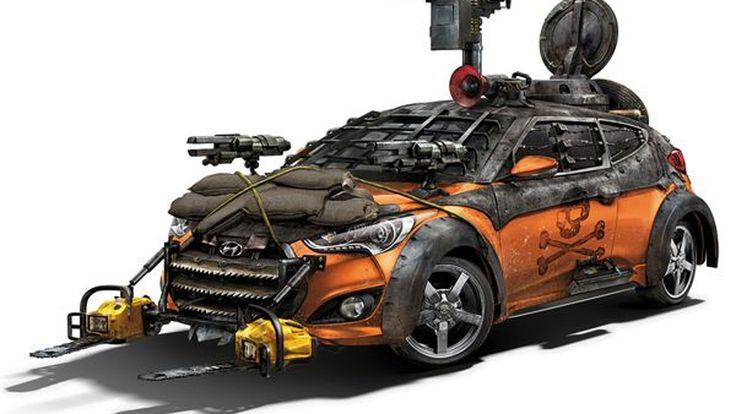 """ไม่หวั่นซอมบี้ เมื่อมี Hyundai Veloster """"Zombie Survival Machine"""""""