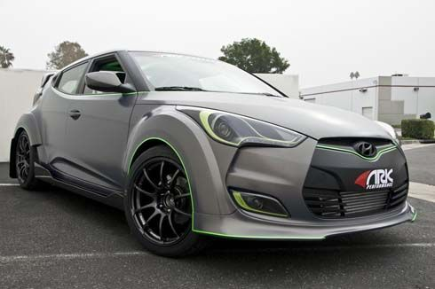 Hyundai อวด Veloster ARK Performance และ PM Lifestyle ที่ SEMA Show