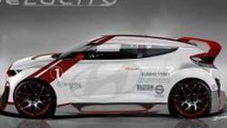 Hyundai Veloster Velocity Concept แต่งพิเศษ เตรียมออกโชว์ตัวที่ SEMA Show